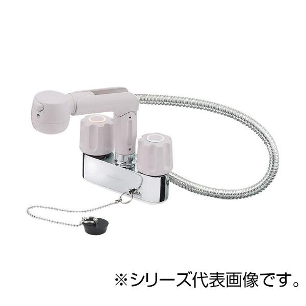 SANEI ツーバルブスプレー混合栓 K31VR-LH-13 メーカ直送品  代引き不可/同梱不可