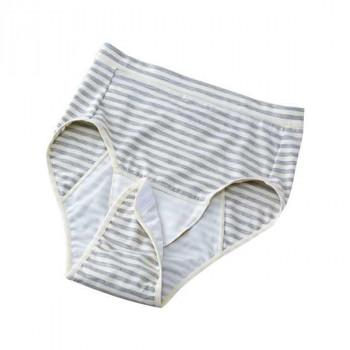 出産後の悪露を受け止めるための産褥用ショーツ。 ハクゾウメディカル meetuuマザーショーツ 産褥用ショーツ グレー M~L 1299045 メーカ直送品  代引き不可/同梱不可