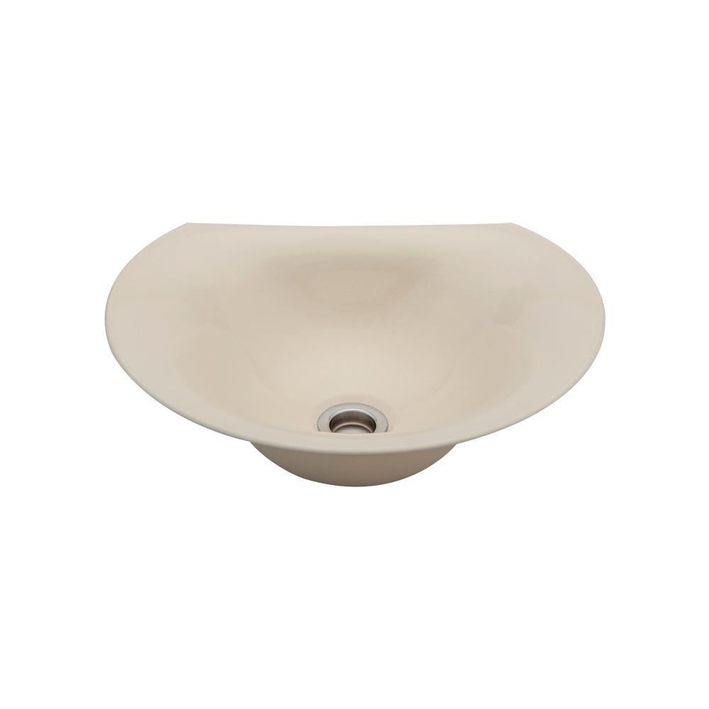 置き型手洗器Φ330(モノクローム・シリーズ/淡黄) LSM4C-TA メーカ直送品  代引き不可/同梱不可
