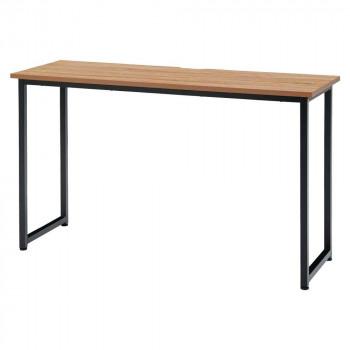 オフィス家具 アイアンフレーム サイドテーブル 120×40×70cm RG1240-KKA メーカ直送品  代引き不可/同梱不可