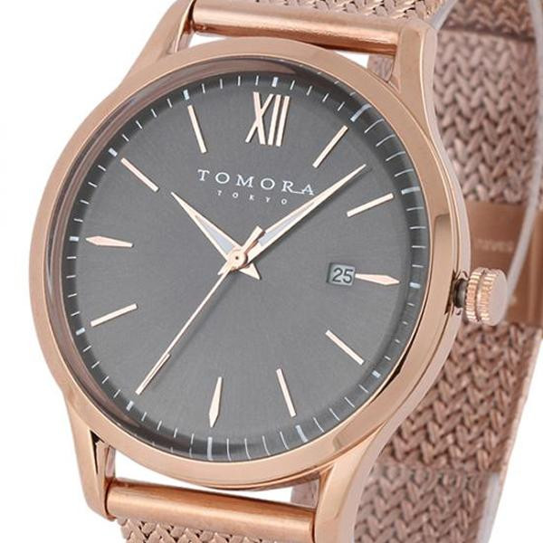 TOMORA TOKYO(トモラ トウキョウ) 腕時計 T-1605SS-PGY メーカ直送品  代引き不可/同梱不可
