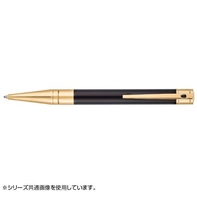 D・イニシャル ボールペン(イージーフロー) ブラックラッカー/ゴールデン 265202 メーカ直送品  代引き不可/同梱不可