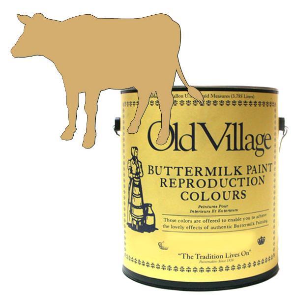 Old Village バターミルクペイント ファンシー チェア イエロー 3785mL 605-03061 BM-0306G メーカ直送品  代引き不可/同梱不可
