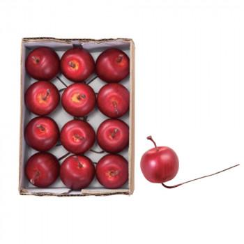 ガーデニング アップルピック(12本/箱) レッド 12箱セット T0261 アレンジメント メーカ直送品  代引き不可/同梱不可