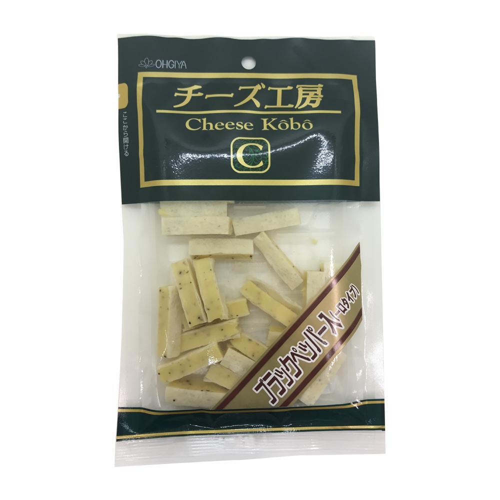 扇屋食品 チーズ工房ブラックペッパー入り(60g)×60袋 メーカ直送品  代引き不可/同梱不可