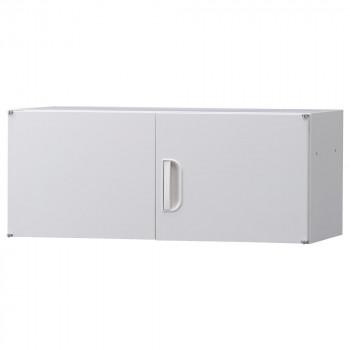 豊國工業 壁面収納庫深型上置き棚H370 ホワイト HOS-U2 BN-90色(ホワイト) メーカ直送品  代引き不可/同梱不可