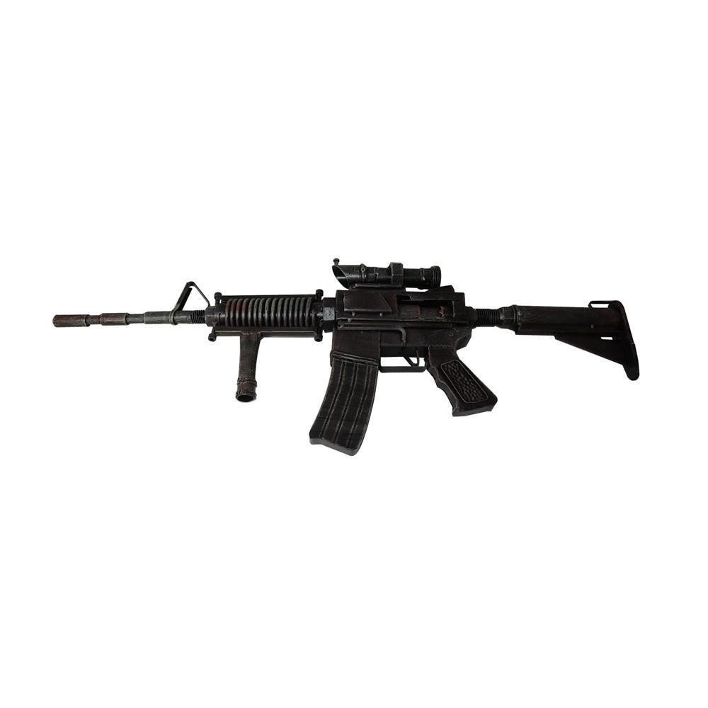 ブリキのおもちゃ(machine gun) 27607 メーカ直送品  代引き不可/同梱不可