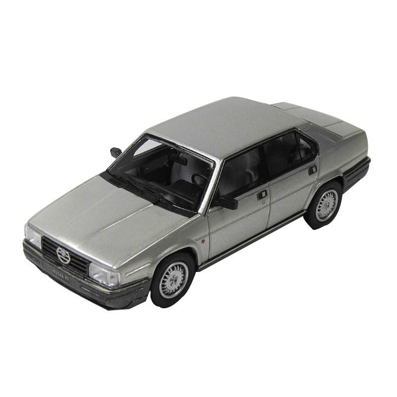 KESS/ケス アルファ・ロメオ ALFA 90 QUADRIFOGLIO ORO (1984) シルバー 1/43スケール KE43000191 メーカ直送品  代引き不可/同梱不可