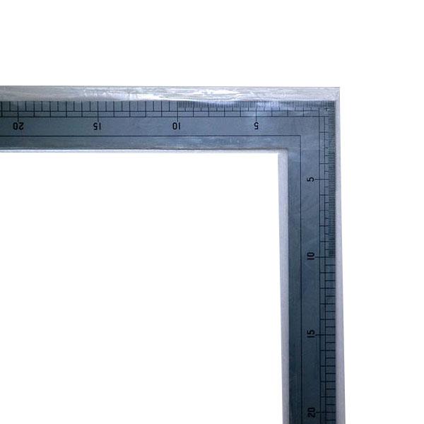64009 シンワ 洋裁尺 シルバー75×35cm メーカ直送品  代引き不可/同梱不可
