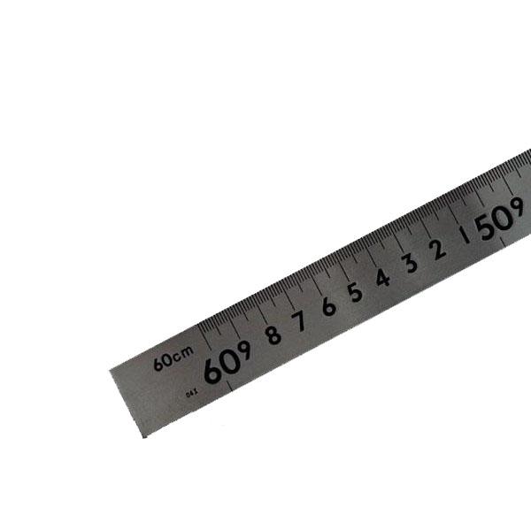 63053 シンワ 曲尺 中金ステン 60cm×30cm目盛 メーカ直送品  代引き不可/同梱不可