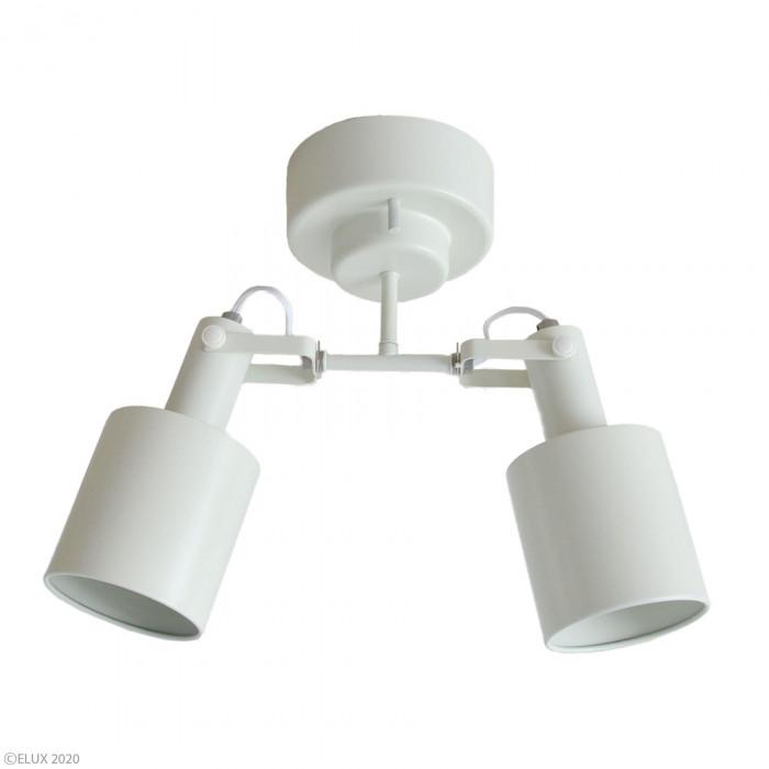 ELUX(エルックス) REVO(レヴォ) 2灯シーリングスポットライト ホワイト LC10971-WH メーカ直送品  代引き不可/同梱不可