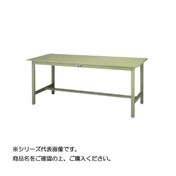 SWSH-1590-GG+L2-G ワークテーブル 300シリーズ 固定(H900mm)(2段(浅型W500mm)キャビネット付き) メーカ直送品  代引き不可/同梱不可