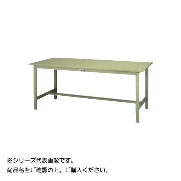 SWSH-1575-GG+L2-G ワークテーブル 300シリーズ 固定(H900mm)(2段(浅型W500mm)キャビネット付き) メーカ直送品  代引き不可/同梱不可