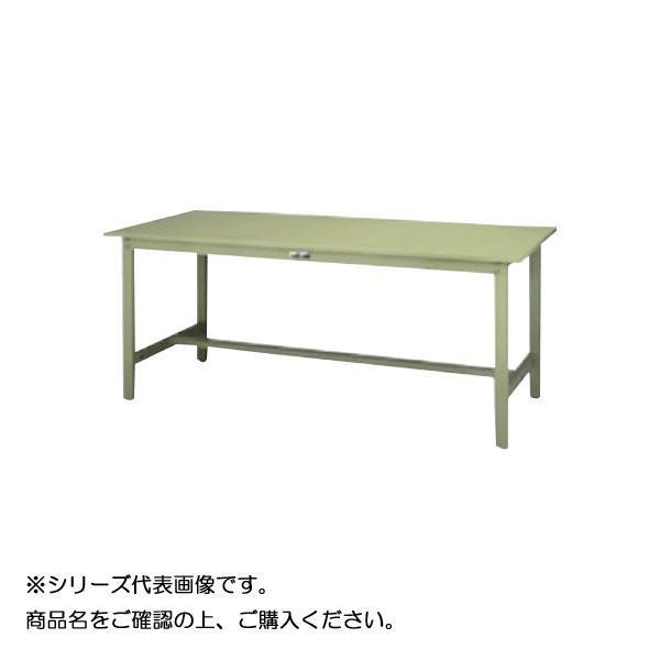 SWSH-1260-GG+L2-G ワークテーブル 300シリーズ 固定(H900mm)(2段(浅型W500mm)キャビネット付き) メーカ直送品  代引き不可/同梱不可