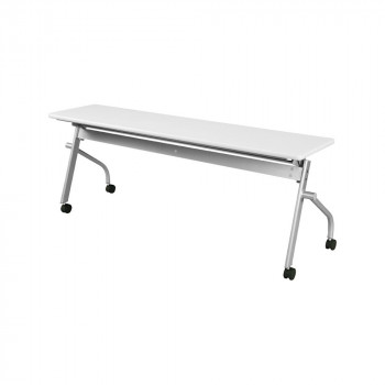 オフィス家具 平行スタックテーブル 180×45×70cm ネオホワイト KSP1845A-NW メーカ直送品  代引き不可/同梱不可