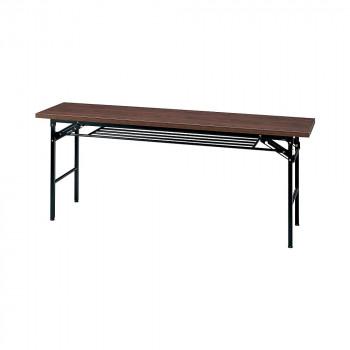 オフィス家具 ミーティングテーブル ハイタイプ 180×45×70cm ローズ KM1845T-R メーカ直送品  代引き不可/同梱不可