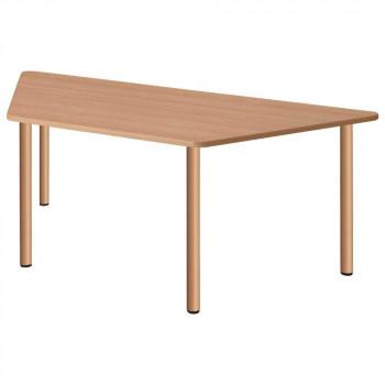 オフィス・施設向け家具 スタンダードテーブル ナチュラル UFT-4SD9018-NA メーカ直送品  代引き不可/同梱不可