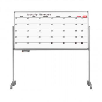 馬印 AXシリーズ 片面脚付 月間スケジュール表ボード W1810×H920 AX36TSN メーカ直送品  代引き不可/同梱不可