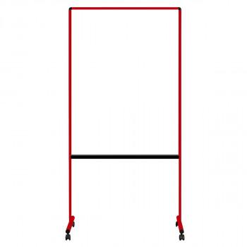 馬印 透明ボード(片面)カラー枠 レッド W939×D557×H1850 UDTP34N-R メーカ直送品  代引き不可/同梱不可