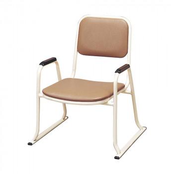 整理整頓が簡単で場所を取らないスチールパイプ椅子 供え 日本製 仏具 椅子 肘付本堂用お詣り椅子 メーカ直送品 同梱不可 代引き不可 SH-300E0602-3000 スチールパイプ 安い