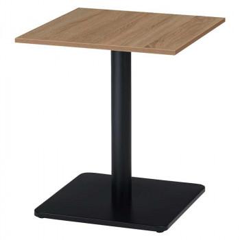 オフィス家具 アイアンフレーム カフェテーブル 角型 60×60×70cm RGT6060-KKA メーカ直送品  代引き不可/同梱不可