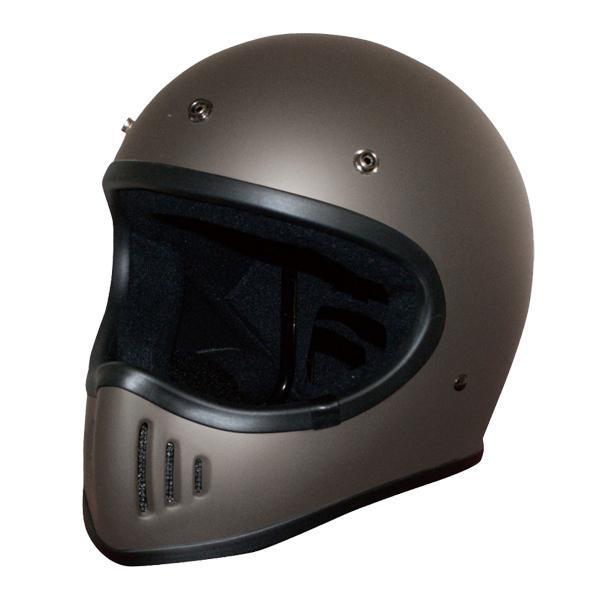 ダムトラックス(DAMMTRAX) BLASTER-改 ヘルメット FLAT GUNMETAL L メーカ直送品  代引き不可/同梱不可