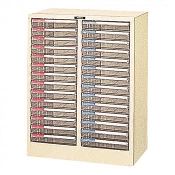 ナカバヤシ フロアケース A4 14段 2列 A4-728P メーカ直送品  代引き不可/同梱不可