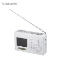 YAZAWA(ヤザワ) ワンセグエコTV TV02WH メーカ直送品  代引き不可/同梱不可