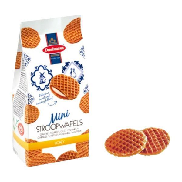 超特価 アウトレット 蜂蜜の香りがほんのり漂う上品な味です ダールマンズ ミニハニーワッフル バッグ 12袋 100000765 代引き不可 メーカ直送品 同梱不可