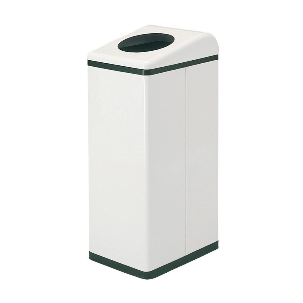 ぶんぶく リサイクルトラッシュ Bライン PETボトル用 OSL-37 ネオホワイト 代引き不可/同梱不可