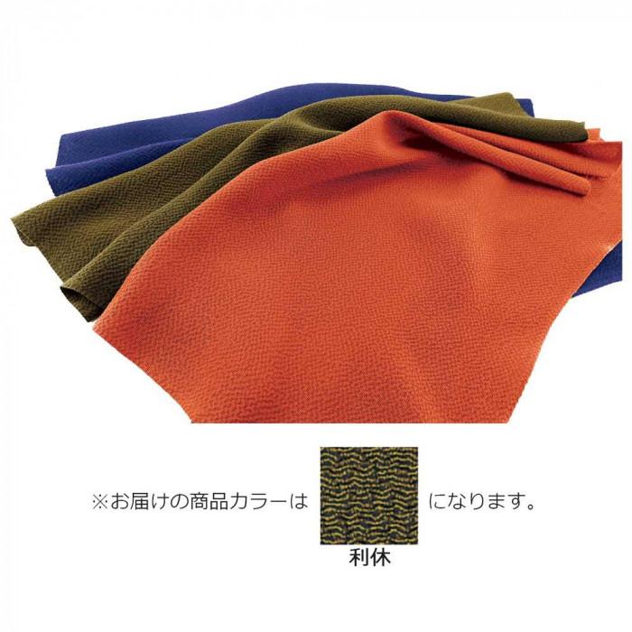 正絹ちりめん無地ふろしき 三巾 利休 49-012202 メーカ直送品  代引き不可/同梱不可