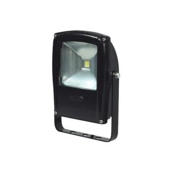 LEN-F10D-BK LEDフラットライト 10W 黒 13000 メーカ直送品  代引き不可/同梱不可