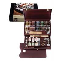 REMBRANDT レンブラント油絵具 ラグジュアリーボックス41色セット T0184-0001 410871 代引き不可/同梱不可