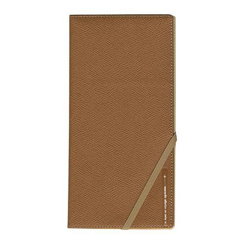 スキミングブロック・パスポートケース 皮革調R キャメル メーカ直送品  代引き不可/同梱不可