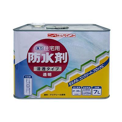 ニッペホームペイント 住宅用防水剤 透明 7L メーカ直送品  代引き不可/同梱不可