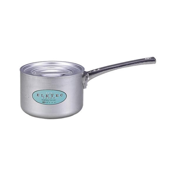 エコクリーン アルミエレテック片手鍋 21cm 004610-021 メーカ直送品  代引き不可/同梱不可