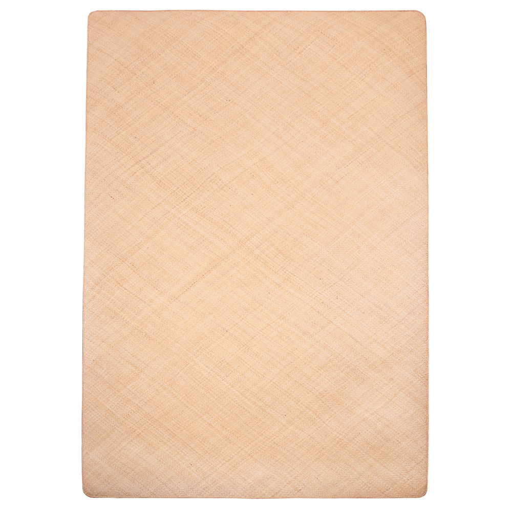 籐本手織り あじろ編みラグ 140×200cm AJRW140 メーカ直送品  代引き不可/同梱不可