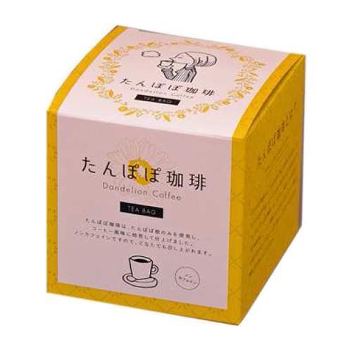 飲みやすいノンカフェインです。 たんぽぽ珈琲 ボックスシリーズ 2g×10包 20個 メーカ直送品  代引き不可/同梱不可