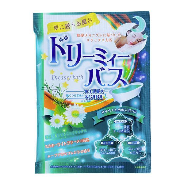 五洲薬品 入浴用化粧品 ドリーミィーバス ハーブアロマブレンドの香り (50g×10包)×12セット DMH-20 メーカ直送品  代引き不可/同梱不可