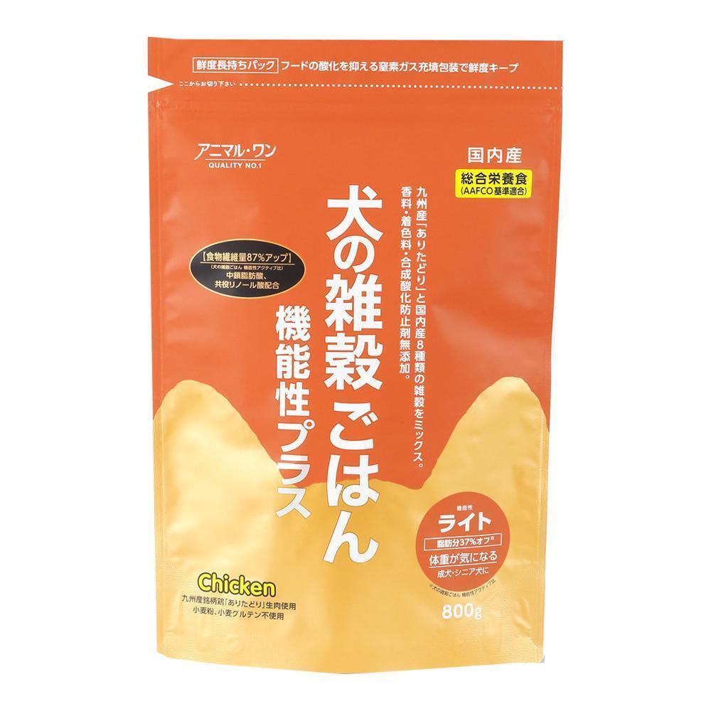 犬の雑穀ごはんライト(チキン) 800g×10入 P31-301 メーカ直送品  代引き不可/同梱不可