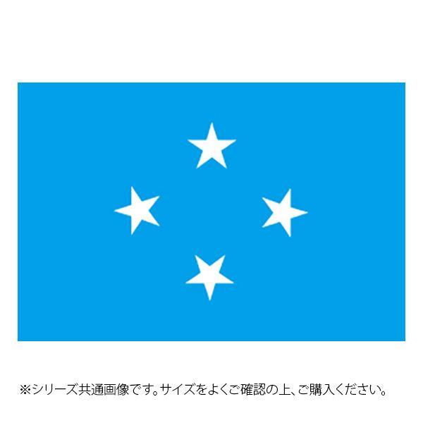 N国旗 ミクロネシア No.2 W1350×H900mm 23492 メーカ直送品  代引き不可/同梱不可