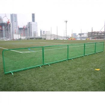 外野フェンス(テニスフェンス兼用) B-753 メーカ直送品  代引き不可/同梱不可