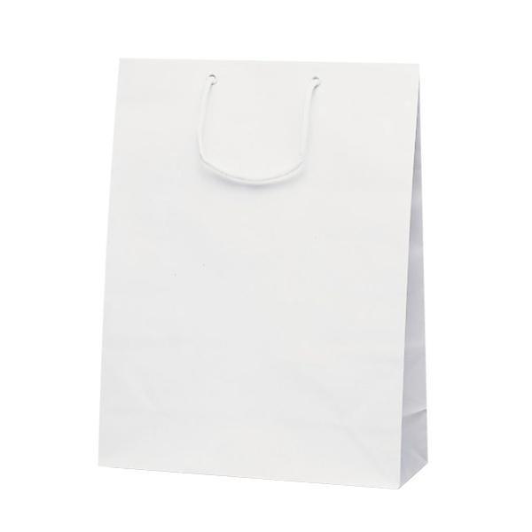 グランドバッグ 手提袋 380×145×500mm 50枚 ホワイト 1142 メーカ直送品  代引き不可/同梱不可