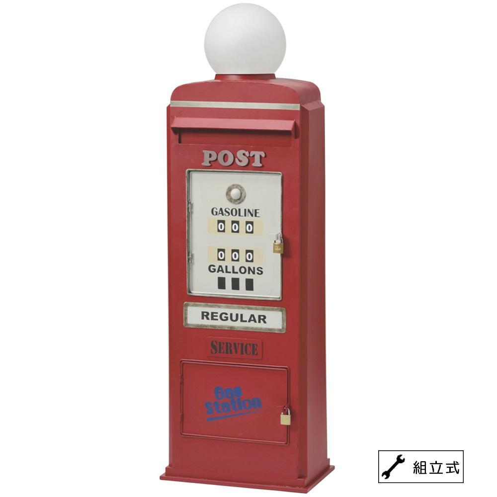 セトクラフト スタンドポスト(GAS PUMP) レッド SI-2858-RD-4000 代引き不可/同梱不可