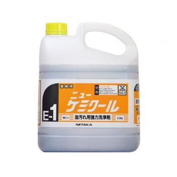 業務用 油汚れ用強力洗浄剤 ニューケミクール(E-1) 4kg×4本 230131 代引き不可/同梱不可
