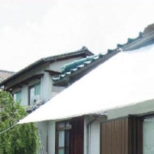 萩原工業 遮熱シート スノーテックス・クール 約2.7×3.6m 8枚入 メーカ直送品  代引き不可/同梱不可