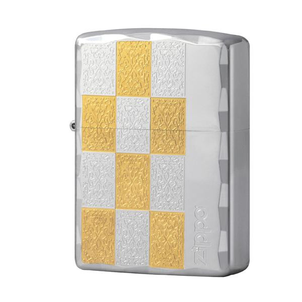 ZIPPO ブロックチェック S&G 2-42b (♯200) 70573 メーカ直送品  代引き不可/同梱不可