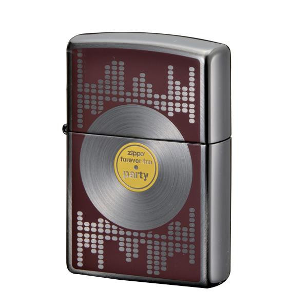 ZIPPO ミュージックファン BK 2-104a (♯200) 70608 メーカ直送品  代引き不可/同梱不可