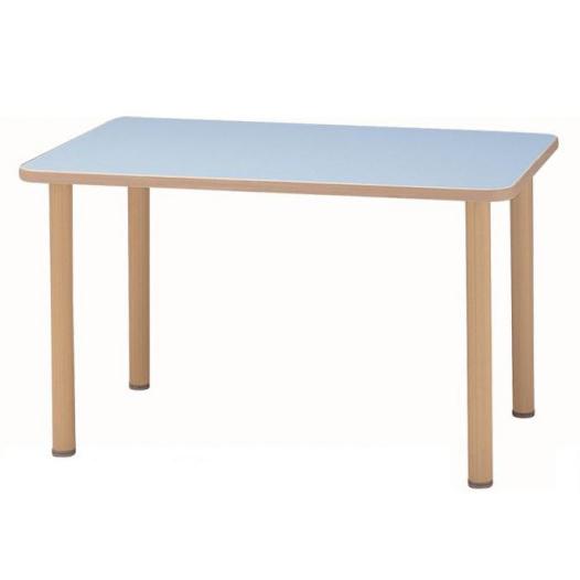 サンケイ 長方形テーブル(H700~750mm) TCA275-ZW 代引き不可/同梱不可