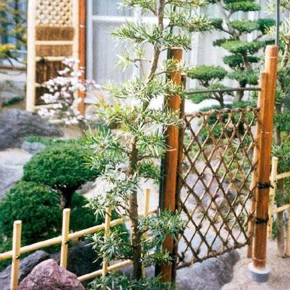 八ツ矢工業(YATSUYA) 虎竹枝折戸×5個 56730 メーカ直送品  代引き不可/同梱不可